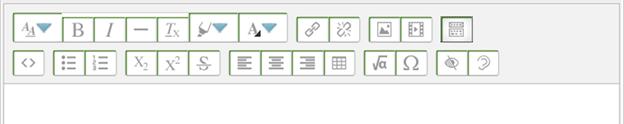 Title: Atto Editor Toolbar