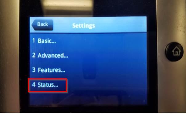 Image to select Status