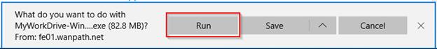 """Screenshot showing """"Run"""" dialog box."""