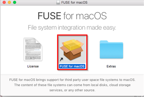 Title: FUSE for macOS