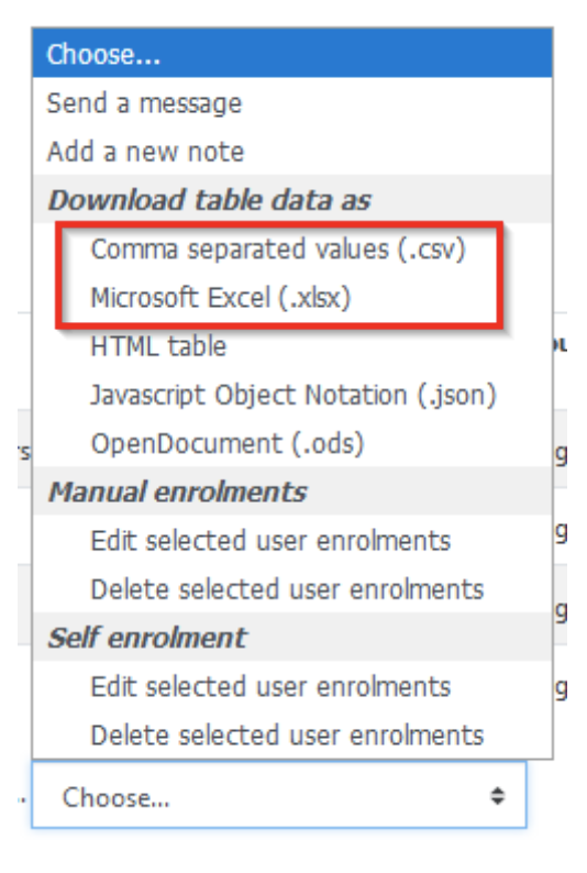 download table data screenshot