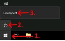 Disconnect Screenshot