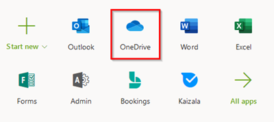 office 365 application icons